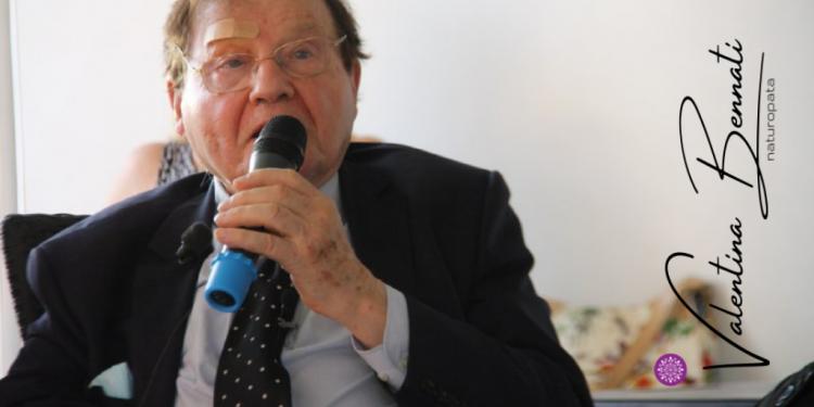 Prof Luc Montagnier Firenze 12.08.2021